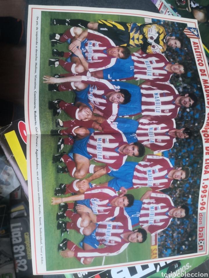 Coleccionismo deportivo: Don balón N°1075,Mayo 1996, Extra ¡CAMPEÓN! Atlético de Madrid, At. Con Póster en interior intacto. - Foto 2 - 190844876