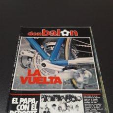 Coleccionismo deportivo: DON BALON N° 446. 24 DE ABRIL 1984.. Lote 190903201