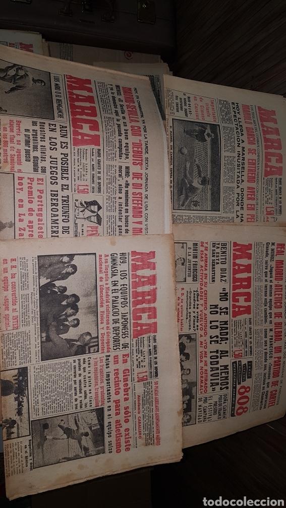 Coleccionismo deportivo: Lote diario Marca 1960 - Foto 2 - 191031160