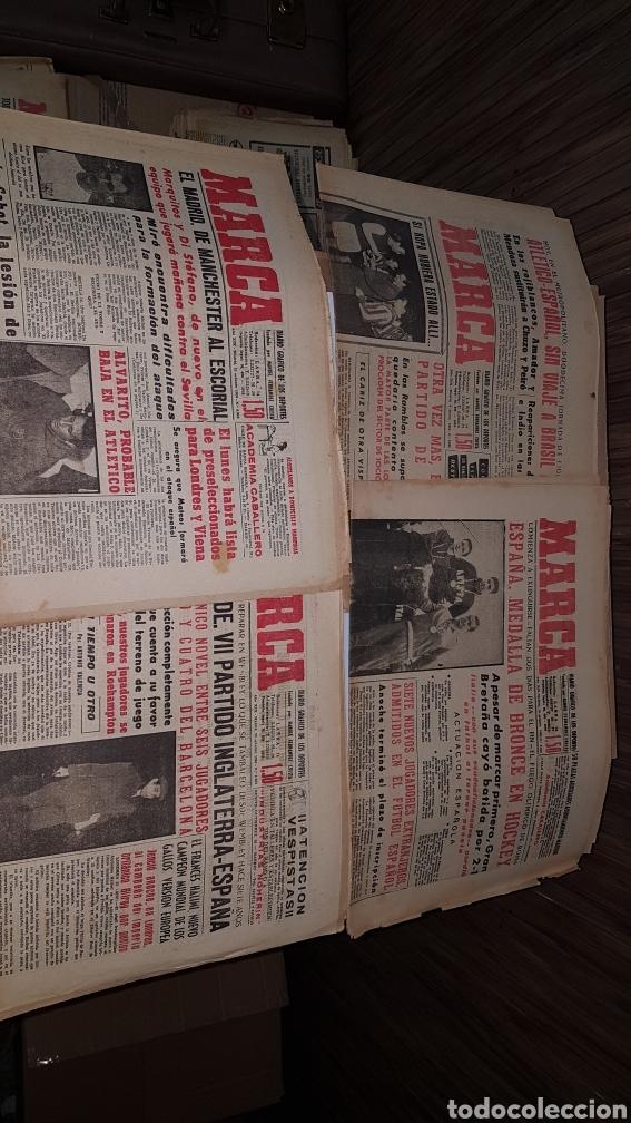 Coleccionismo deportivo: Lote diario Marca 1960 - Foto 4 - 191031160