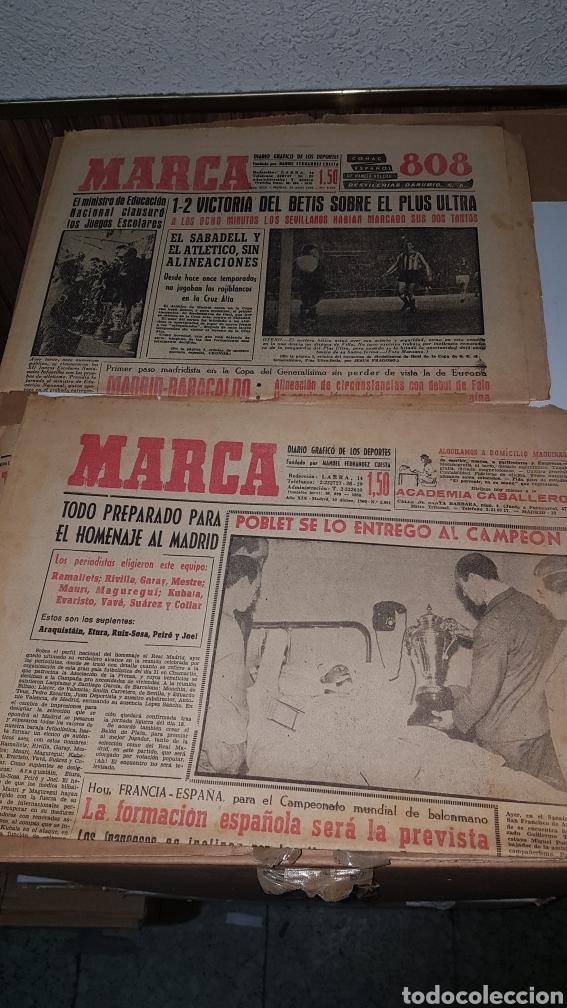 Coleccionismo deportivo: Lote diario Marca 1960 - Foto 5 - 191031160