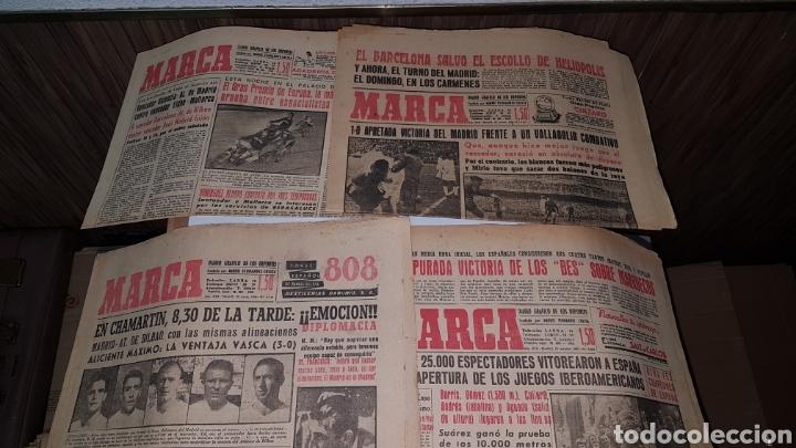 LOTE DIARIO MARCA 1960 (Coleccionismo Deportivo - Revistas y Periódicos - La Jornada Deportiva)