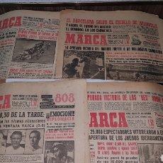 Coleccionismo deportivo: LOTE DIARIO MARCA 1960. Lote 191031160