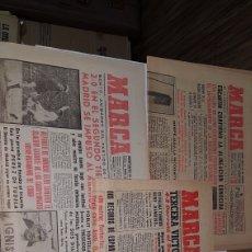 Coleccionismo deportivo: LOTE DIARIOS MARCA 1962. Lote 191031507