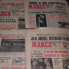 Coleccionismo deportivo: LOTE ANTIGUAS REVISTAS MARCA 1966. Lote 191033783