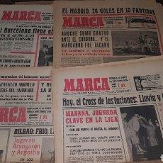 Colecionismo desportivo: LOTE ANTIGUAS REVISTAS MARCA 1967 68 69. Lote 191034090