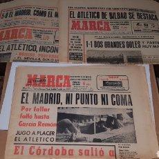 Coleccionismo deportivo: LOTE ANTIGUAS REVISTAS MARCA AÑOS 70. Lote 191034421