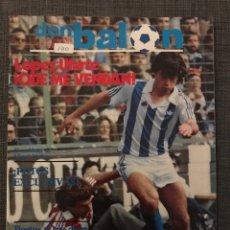 Coleccionismo deportivo: FÚTBOL DON BALÓN 403 - REAL SOCIEDAD - SOLSONA - ACCIDENTE MIGUEL MUÑOZ - BRASIL - JUVE - SEVILLA. Lote 191110558