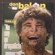 Coleccionismo deportivo: FÚTBOL DON BALÓN 396 - ESPECIAL ATHLETIC BILBAO - TENDILLO - SAÑUDO RACING - UNAMUNO - DEPORTIVO. Lote 191113071