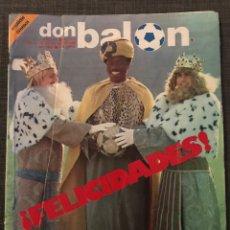 Coleccionismo deportivo: FÚTBOL DON BALÓN 376 - CROMOS SEVILLA - ATHLETIC - MARADONA - VALENCIA - CSKA SOFIA - ÁLBUM. Lote 191214831