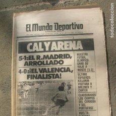Coleccionismo deportivo: DIARIO MUNDO DEPORTIVO N, 17587 DE ABRIL DE 1980. Lote 191331081