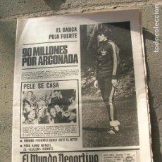 Coleccionismo deportivo: SIARIO MUNDO DEPORTIVO N, 17535 DE FEBRERO DE 1980. Lote 191331230