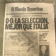 Coleccionismo deportivo: DIARIO MUNDO DEPORTIVO N, 17630 DE JUNIO DE 1980. Lote 191331546