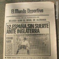 Coleccionismo deportivo: DIARIO MUNDO DEPORTIVO N, 17635 DE JUNIO DE 1980. Lote 191331650