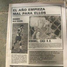 Coleccionismo deportivo: DIARIO MUNDO DEPORTIVO N, 17493 DE ENERO DE 1980. Lote 191331793