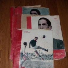 Coleccionismo deportivo: PERIÓDICO MARCA. SUPLEMENTO GRÁFICO DE LOS DEPORTES, 1944-1945 CON LAS CUBIERTAS, 9 DIFERENTES. Lote 191413882