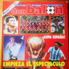 Coleccionismo deportivo: 1994 - DON BALÓN N°972 - MUNDIAL USA 94. Lote 191544382