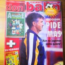 Coleccionismo deportivo: 1998 - DON BALÓN N°1202 NÚMERO ESPECIAL 128 PÁGINAS. Lote 191544396