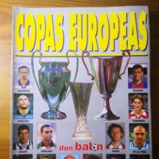 Coleccionismo deportivo: DON BALÓN EXTRA N°44 COPAS EUROPEAS. Lote 191544868