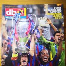 Coleccionismo deportivo: DON BALÓN EXTRA N° 85 EXTRA FC BARCELONA CAMPEÓN CHAMPIONS LEAGUE 05-06. Lote 191545032