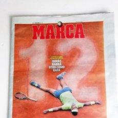 Coleccionismo deportivo: MARCA: NADAL GANA SU ROLAND GARROS NUMERO 12. Lote 221946940