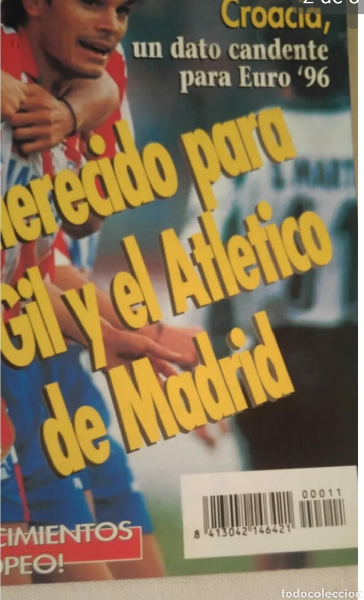 Coleccionismo deportivo: Revista Eurosport fútbol internacional fútbol mundial número 11 - Foto 2 - 191741757