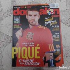 Coleccionismo deportivo: DON BALON Nº 1807,2010, PIQUE EN LA ROJA, CON EL ALBUM DEL MUNDIAL,. Lote 191768662