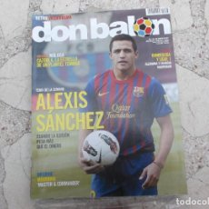 Coleccionismo deportivo: DON BALON Nº 1866, 2011,ALEXIS SANCHEZ,MOURINHO, CAZORLA . Lote 191769452