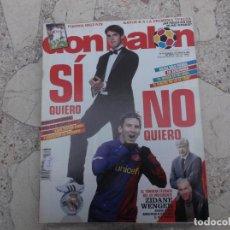 Coleccionismo deportivo: DON BALON Nº 1736, 2009,POSTER HIGUAIN, MESSI, ZIDANE Y WENGER,. Lote 191770152