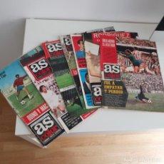 Coleccionismo deportivo: LOTE 7 REVISTAS AS COLOR 1972 - 1973. Lote 191825103