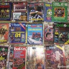Coleccionismo deportivo: DON BALON LOTE DE 105 EJEMPLARES AÑOS 70-80- 90 .... Lote 191854772