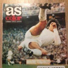 Coleccionismo deportivo: REVISTA AS COLOR 1971 - SIN POSTER-. Lote 191864407
