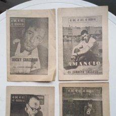 Coleccionismo deportivo: 40 DÍAS, 40 ASES, 40 BIOGRAFÍAS ( 14 MARCAS EN TOTAL DE 1964 ). Lote 191934863