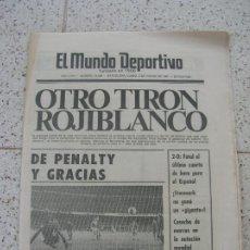 Coleccionismo deportivo: DIARIO MUNDO DEPORTIVO N, 18806 DE ENERO DE 1981. Lote 191966306