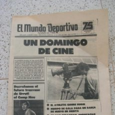 Coleccionismo deportivo: DIARIO MUNDO DEPORTIVO N, 17894 DE ABRIL DE 1981. Lote 191966728