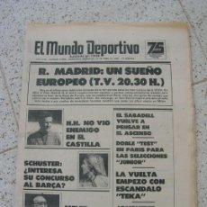 Coleccionismo deportivo: DIARIO MUNDO DEPORTIVO N, 17896 DE ABRIL DE 1981. Lote 191966886