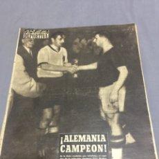 Coleccionismo deportivo: 5-7-1954 FINAL MUNDIAL ALEMANIA HUNGRÍA. Lote 192111017