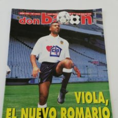 Coleccionismo deportivo: REVISTA DON BALON NÚMERO 1031 JULIO 1995 VIOLA VALENCIA ETXEBERRIA FIGO VER SUMARIO POSTER 11 MEJORE. Lote 192159435