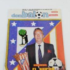 Coleccionismo deportivo: REVISTA DON BALON NUMERO 650 ABRIL 1988 POSTER LARRAÑAGA REAL SOCIEDAD VER SUMARIO.. Lote 192165982