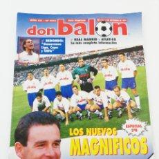 Coleccionismo deportivo: REVISTA DON BALON NUMERO 993 NOVIEMBRE 1994 POSTER HIGUERA REAL ZARAGOZA VER SUMARIO. Lote 192171635