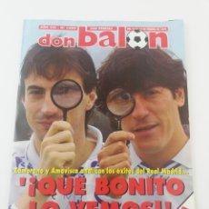 Coleccionismo deportivo: REVISTA DON BALON NÚMERO 1009 FEBRERO 1995 POSTER SEVILLA FC VER SUMARIO.. Lote 192253022
