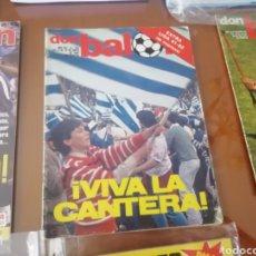 Coleccionismo deportivo: REAL SOCIEDAD. ESPECIAL 1981. EXTRA DON BALON.. Lote 192296177