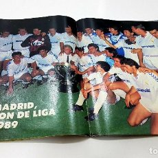 Coleccionismo deportivo: AS COLOR 177 EXTRA 1988-1989 CON POSTER REAL MADRID - BARCELONA - ATLETICO MADRID Y RESTO EQUIPOS. Lote 192345941