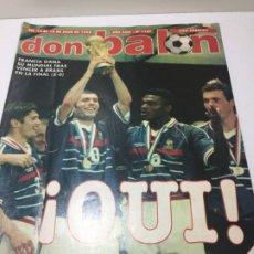 Coleccionismo deportivo: DON BALON Nº 1187 FRANCIA CAMPEON DEL MUNDO INCLUYE POSTER DE OWEN. Lote 192407755