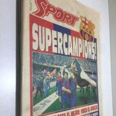 Colecionismo desportivo: 8-6-1992 FC BARCELONA CAMPEÓN DE LIGA. Lote 192413742