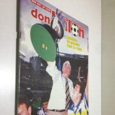 Collezionismo sportivo: DON BALON Nº 1029 DEPORTIVO CORUÑA CAMPEÓN DE COPA INCLUYE POSTER. Lote 192413935