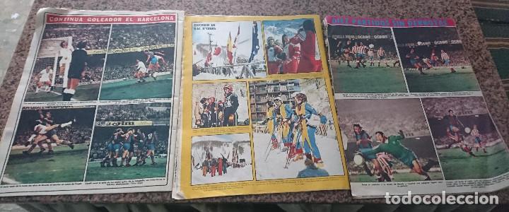 Coleccionismo deportivo: LOTE 3 REVISTAS FUTBOL DEPORTES AS COLOR AÑOS 1973 NUMEROS 134, 135 Y 136 - Foto 2 - 192444443