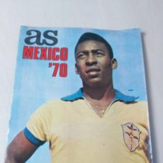 Coleccionismo deportivo: REVISTA AS MEXICO 70 NUMERO EXTRAORDINARIO TIENE POSTER CENTRAL. Lote 192449475