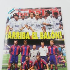 Coleccionismo deportivo: REVISTA DON BALON NUMERO 1033 JULIO 1995 POSTER LUIS FIGO VER SUMARIO.. Lote 192468422