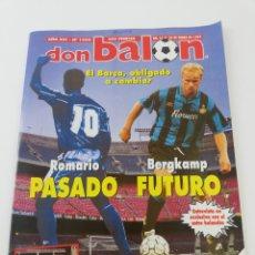 Coleccionismo deportivo: REVISTA DON BALON NUMERO 1005 ENERO 1995 POSTER ATHLETIC CLUB BILBAO 94-95 VER SUMARIO.. Lote 192469592